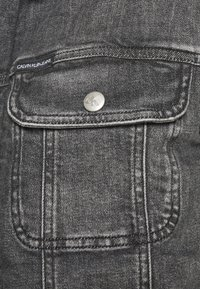 Calvin Klein Jeans - SHERPA JACKET - Jeansjacka - denim grey - 5