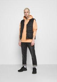 Nike Sportswear - HOODIE - Hoodie - apricot agate/smoke grey - 1