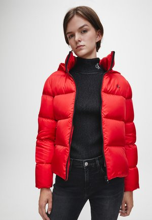 Down jacket - red hot