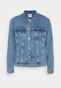 Calvin Klein Jeans - JACKET UNISEX - Spijkerjas - bright blue - 5