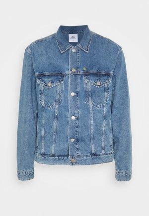 JACKET UNISEX - Denim jacket - bright blue