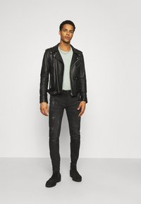 Alessandro Zavetti - Jeans slim fit - black - 1