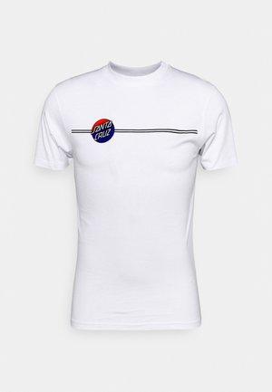 BOGUS HAND FADE UNISEX - Print T-shirt - white