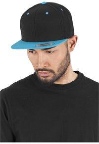Flexfit - CLASSIC SNAPBACK 2-TONE - Cap - black/turquoise - 0