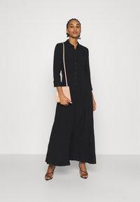 YAS - YASSAVANNA LONG DRESS - Maxi dress - black - 1