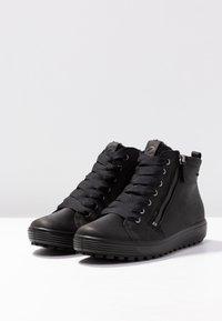 ECCO - SOFT 7 TRED - Sneakers alte - black - 4
