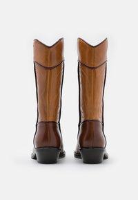 See by Chloé - DANY  - Cowboy/Biker boots - tan - 6