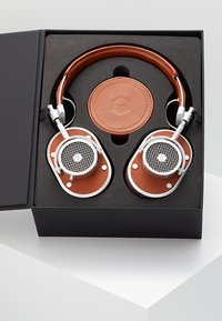 Master & Dynamic - MH40 OVER-EAR - Høretelefoner - brown/silver-coloured - 3