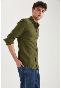 DeFacto - Formal shirt - khaki - 4