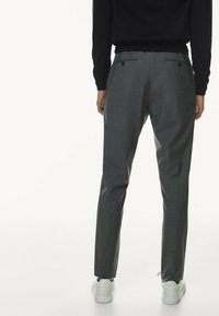 Massimo Dutti - CASUAL FIT - Trousers - grey - 1