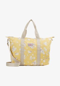 Cath Kidston - FOLDAWAY OVERNIGHT BAG - Tote bag - soft yellow - 5