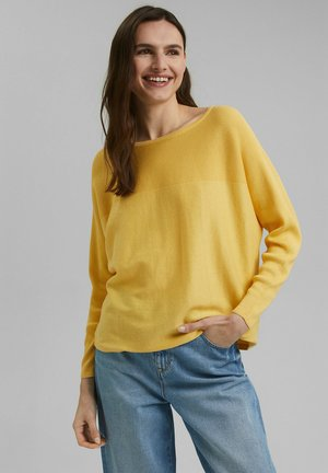 Jumper - sunflower yellow