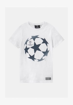NKMUEFA  - Print T-shirt - bright white