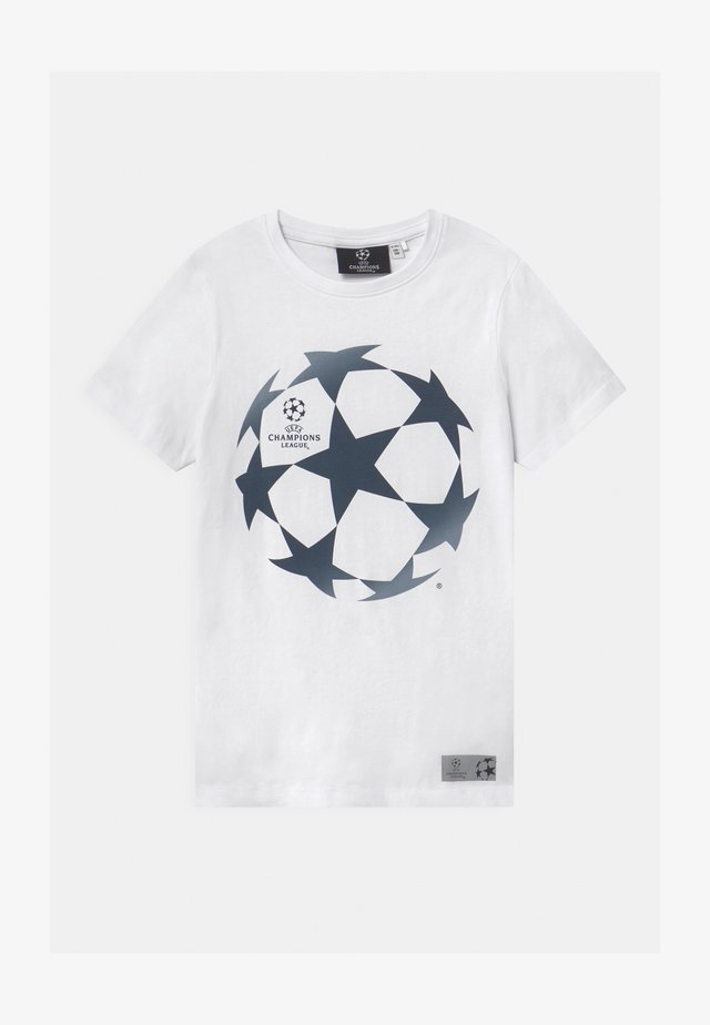 NKMUEFA  - T-Shirt print - bright white
