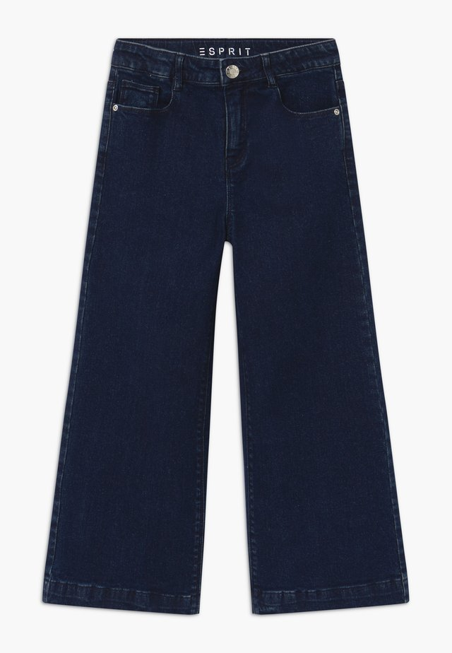 Bootcut jeans - blue denim