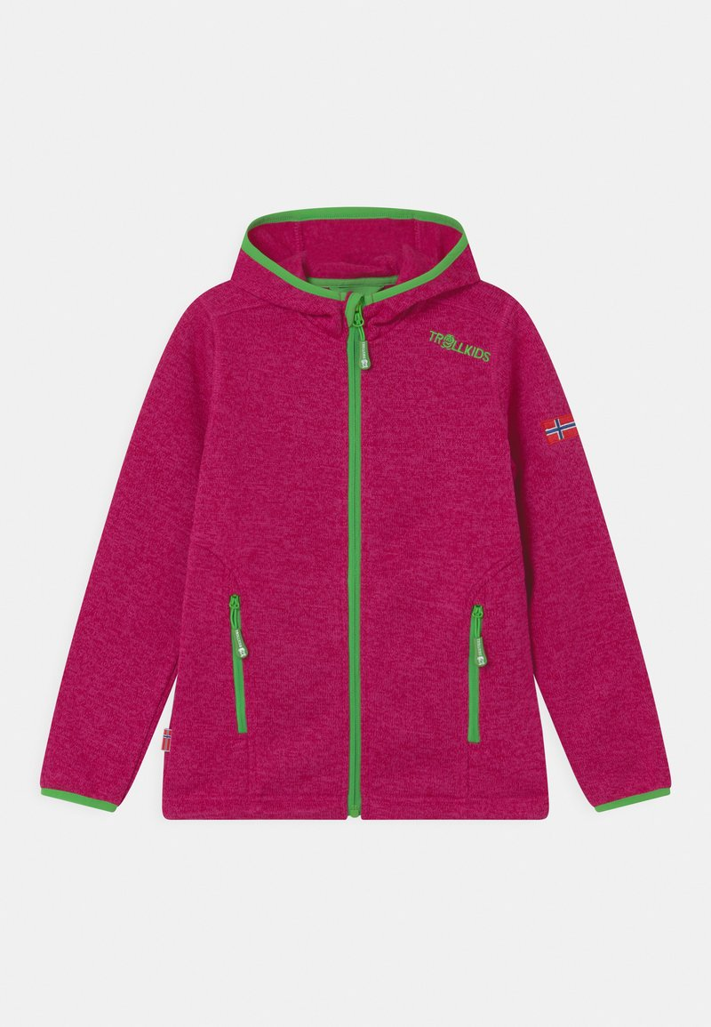 TrollKids - JONDALEN  - Fleece jacket - pink/green