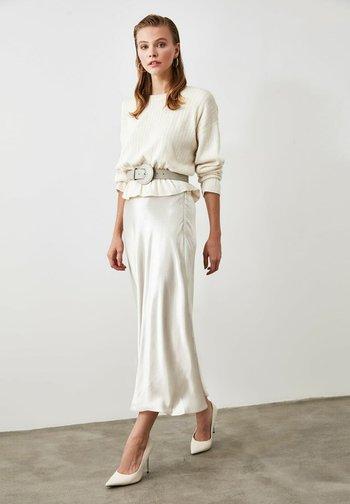 A-line skirt - silver
