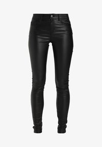 Pieces - PCFIVE COATED - Jeggings - black - 5