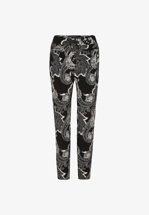 Tracksuit bottoms - black paisley