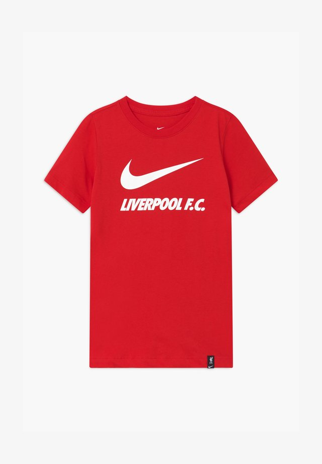 LIVERPOOL FC TEE GROUND - Klubbklær - university red