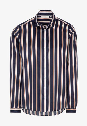 MODERN CLASSIC REGULAR FIT - Button-down blouse - marine/orange