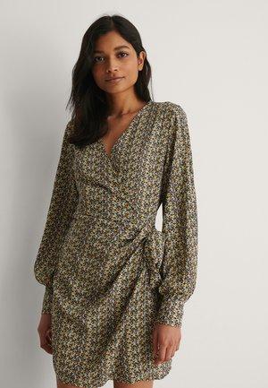 Sukienka letnia - grey/yellow