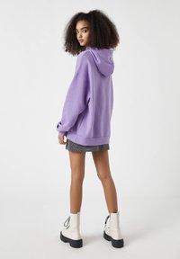 PULL&BEAR - Hoodie - purple - 2