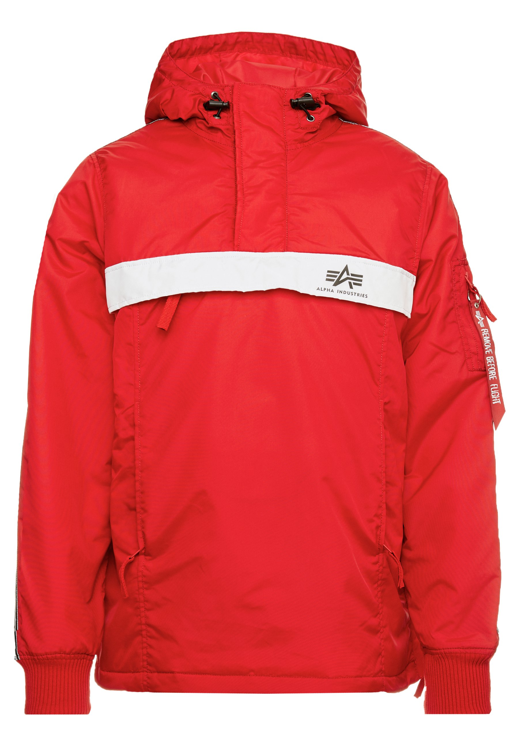 NASA ANORAKFUNKTION Vindjakke speed red