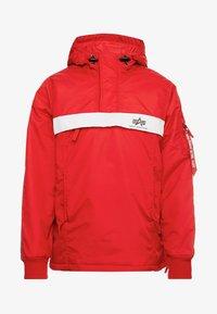 AL TAPE ANORAK - Light jacket - speed red