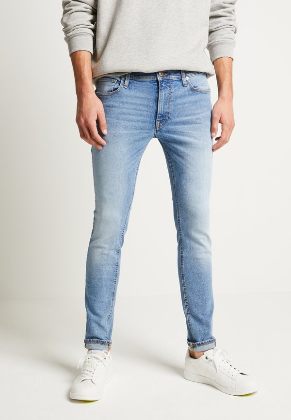 Jack & Jones JJILIAM ORIGINAL - Jeansy Skinny Fit - blue denim/niebieski denim Odzież Męska CXXZ