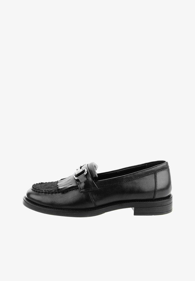 GENUAVE - Scarpe senza lacci - black