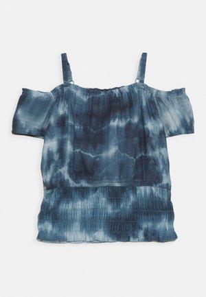 SMOCKED WAIST - Toppe - blue