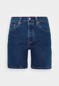 501® MID THIGH SHORT - Denim shorts - charleston shadow