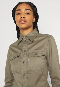 G-Star - KICK BACK - Button-down blouse - cavalry - 2