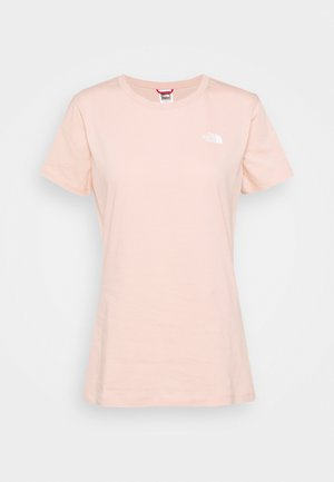 SIMPLE DOME TEE - Basic T-shirt - evening sand pink