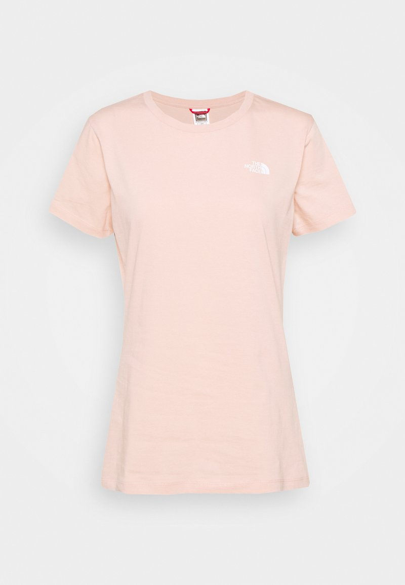The North Face - SIMPLE DOME TEE - T-shirts - evening sand pink
