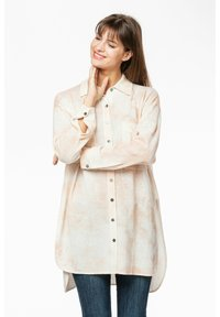 Rosa & Me - Button-down blouse - braun/weiß - 6
