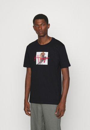 DUDGIE - Print T-shirt - black