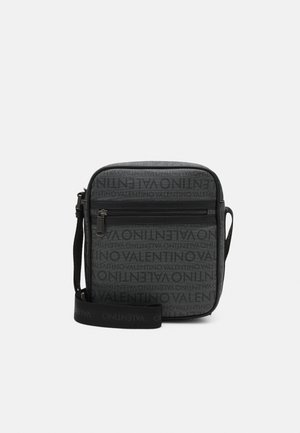 FUTON UNISEX - Across body bag - nero/multicolor