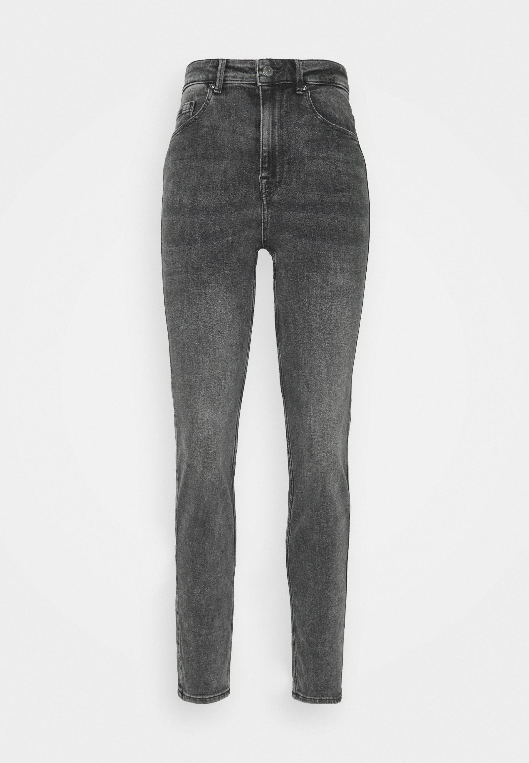 Donna PCLILI HIGH WAIST - Jeans slim fit