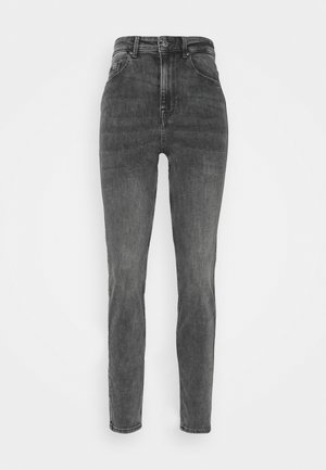 PCLILI HIGH WAIST - Jeans slim fit - medium grey denim