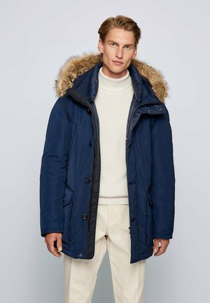 Down coat - dark blue