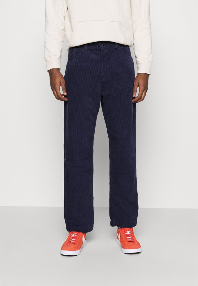 TROUSERS - Pantaloni - patriot blue