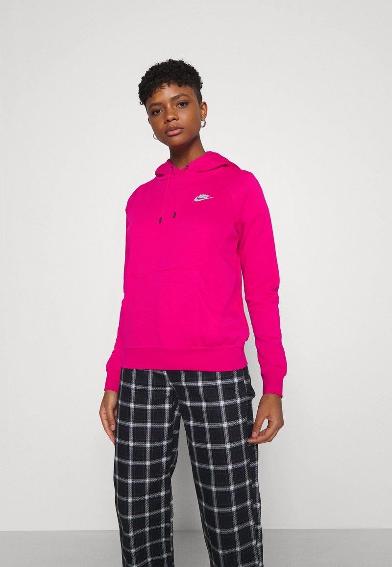 Nike Sportswear - HOODIE - Sweat à capuche - fireberry/white