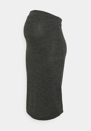 PCMPAM PENCIL SKIRT - Pencil skirt - dark grey melange