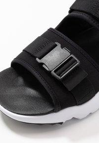 Nike Sportswear - CANYON - Walking sandals - black/white - 5