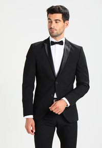 Selected Homme - SHDNEWONE PEAKLOGAN SLIM FIT - Suit - black - 0