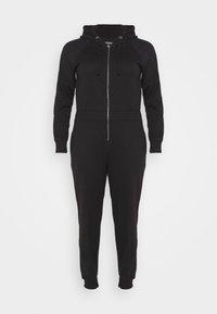 Missguided Plus - HOODED  - Jumpsuit - black - 4