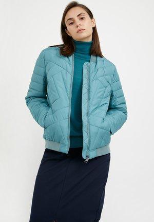 Light jacket - dark turquois
