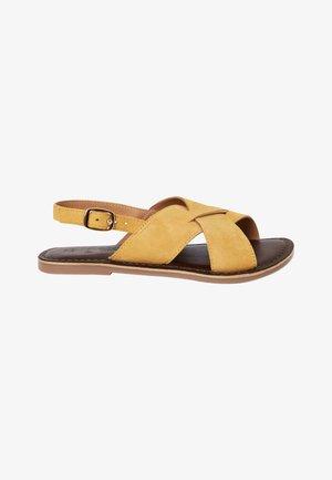 Sandals - ochre